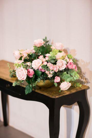 Composition florale accueil
