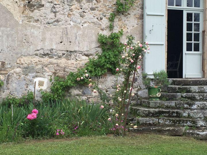 Losmonerie: Terrasse