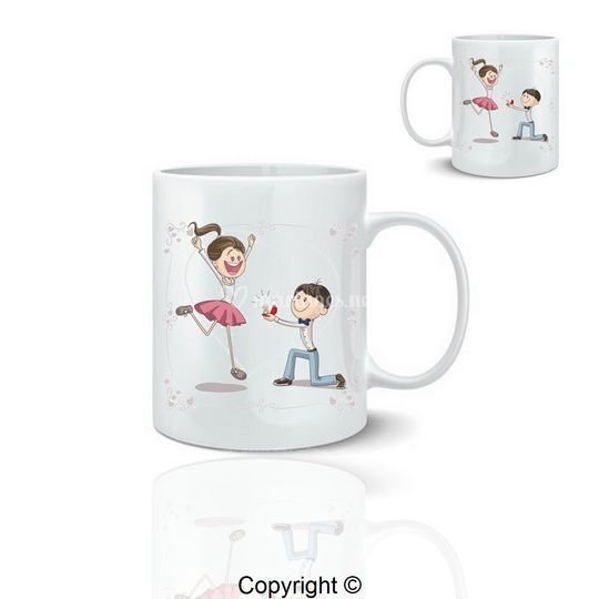 Mug demande mariage