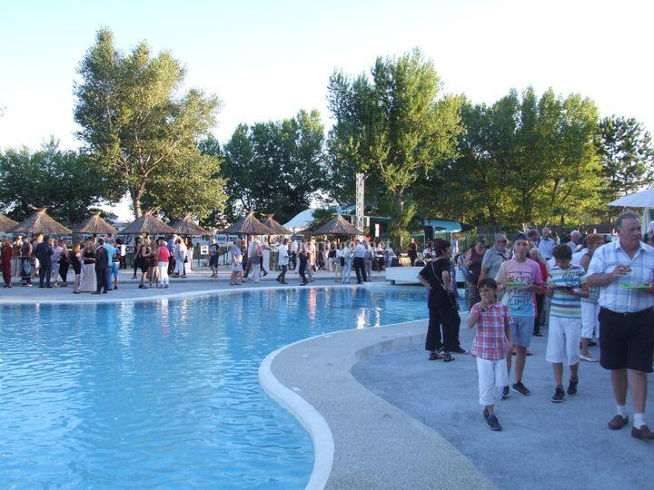 Vin d'honneur piscines