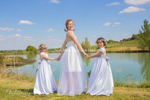 Robe de mariée Sylphide