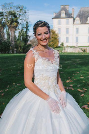 Robe de mariée d'Océane