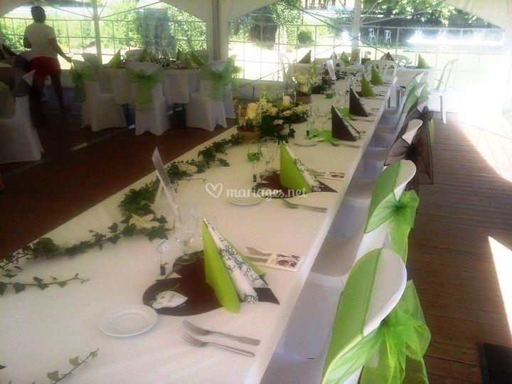Décorations de tables
