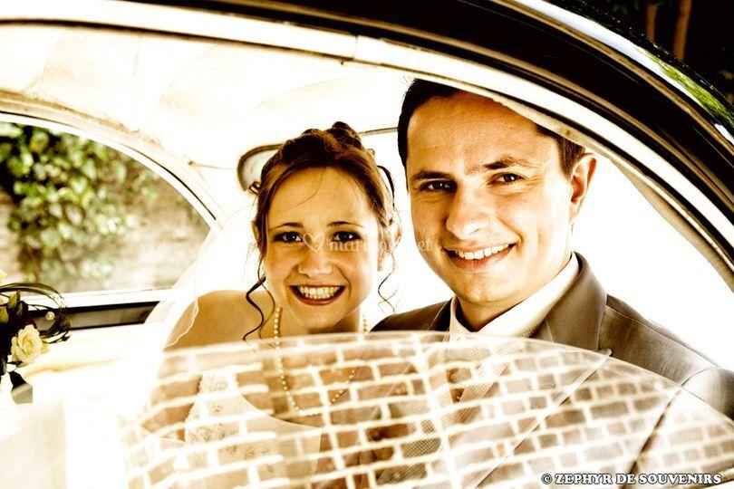 Les mariés au rendez-vous