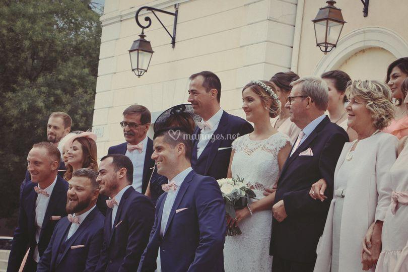 Photographe de mariage vintage