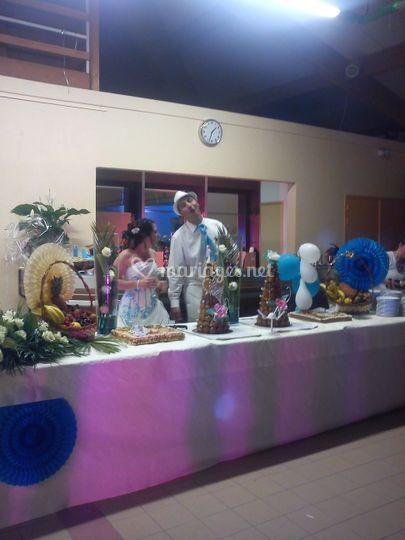 Decoration buffet