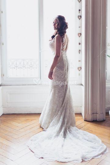 La robe Pronovias
