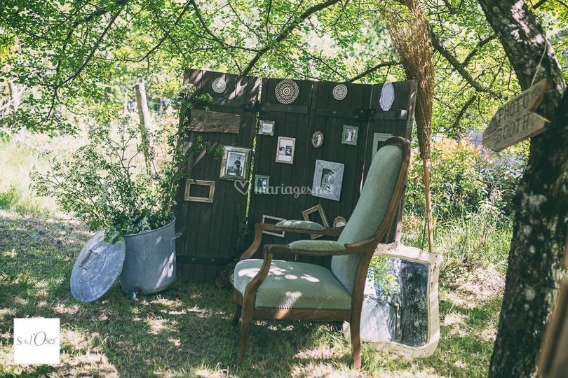 Photobooth champêtre