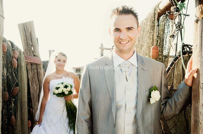 La séance des mariés