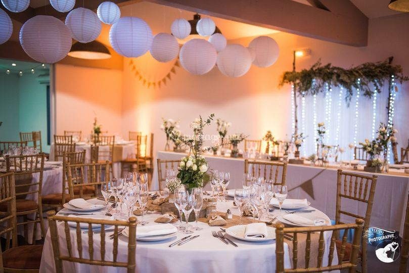 Table mariage Clos St Georges