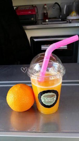Jus d'orange 100% pressé