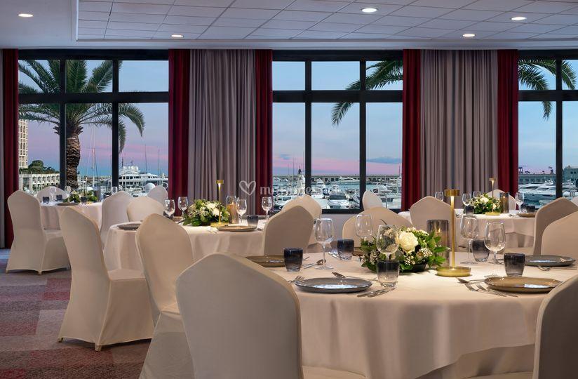 Salon Monte Carlo vue mer