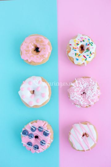 Donuts gourmands