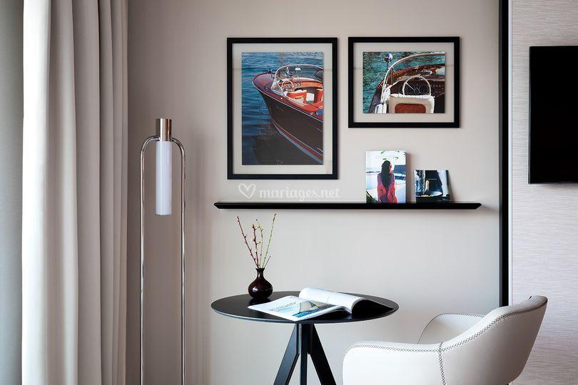Chambres prestige vue mer