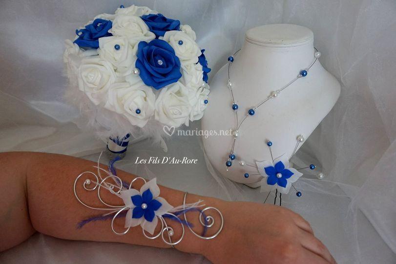 Parure et bouquet