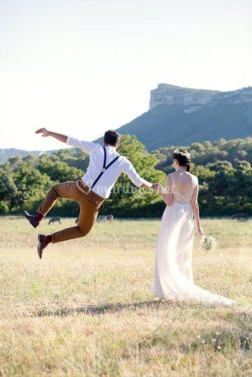 Mariage au Mas des Violettes à