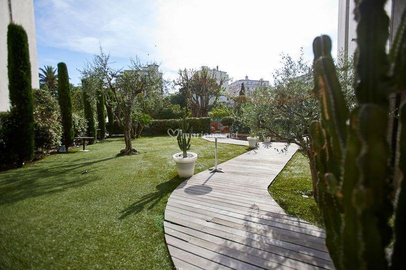 Les Jardins privés