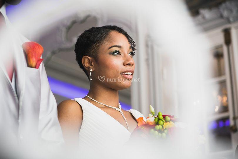 Une bien jolie mariée