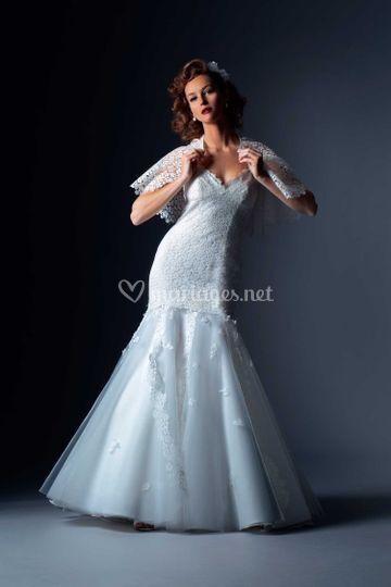 Robe de mariée Alouna sur Cymbeline Brest