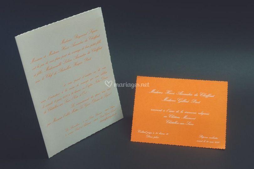 Lettre de mariage