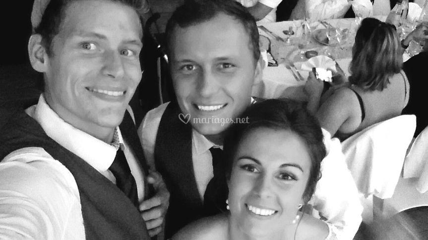 Selfie mariés !
