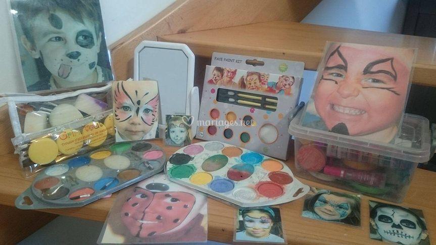 Pallette de maquillage