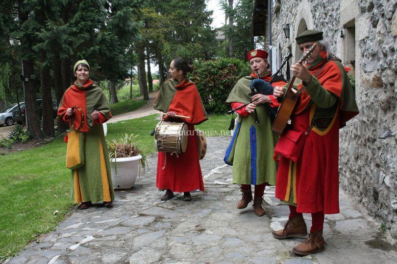 Musiciens - costumes
