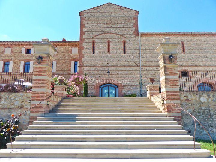 L'escalier du Grand Belric