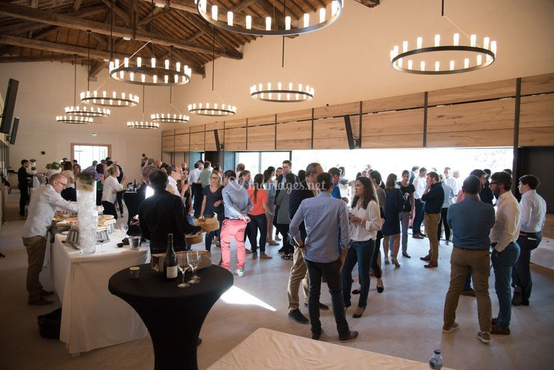 Grande salle cocktail