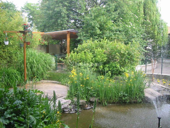 Au Jardin des Saules