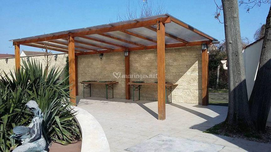 Pergola et terrasse de au jardin des saules photo 12 for Au jardin des saules