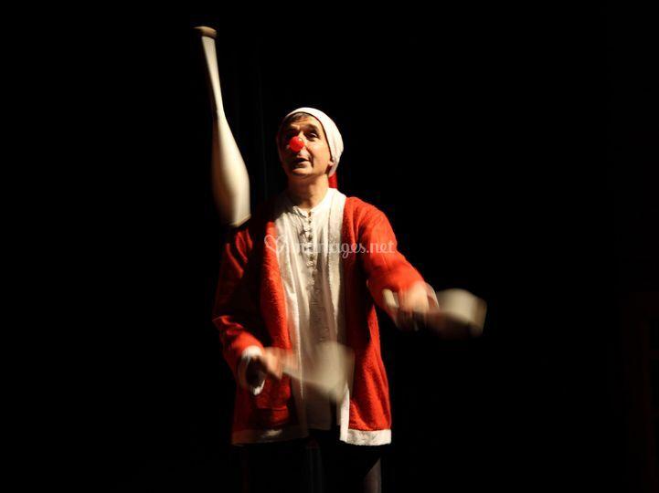 Zoumac au jonglage