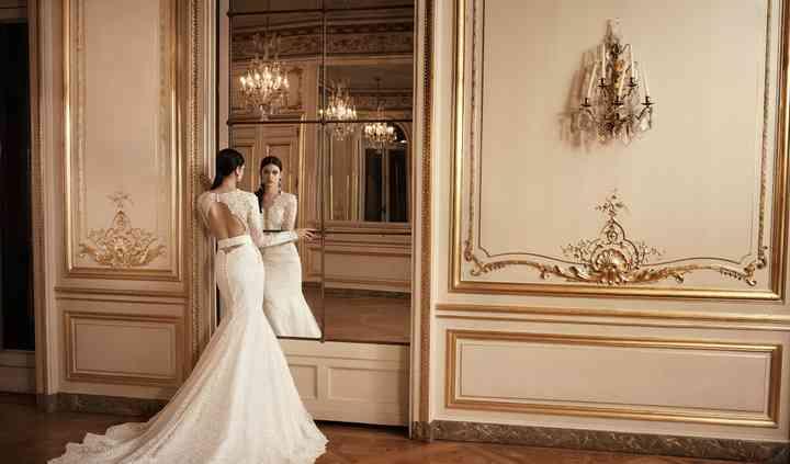 Robe de mariée sirène fluide
