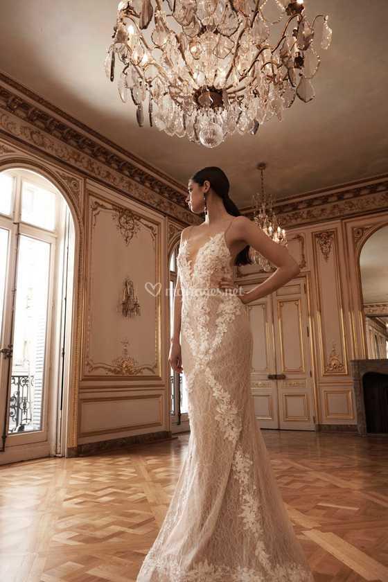 Robe De Mariee Sirene Fluide De Mae Collection Paris Photo 16