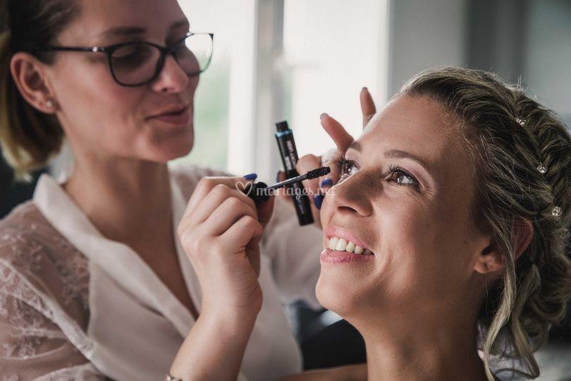 Préparatif - Maquillage