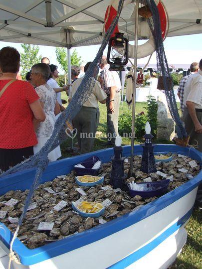 Le bateau d'huîtres