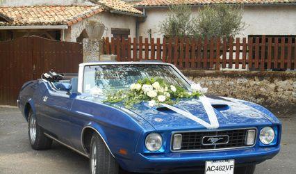 Wedding Mustang