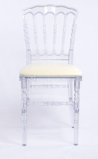 Chaise Napoléon en cristal