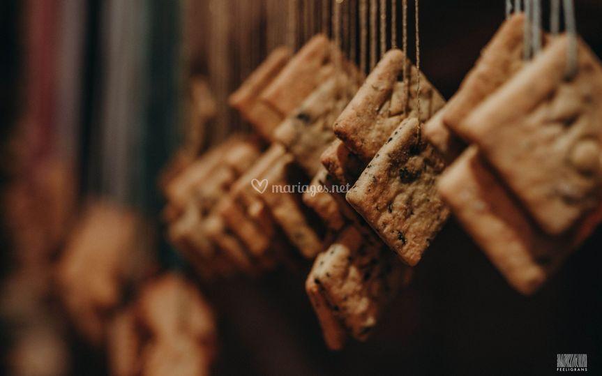 Gâteaux suspendus