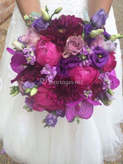Bouquet de mariée Olivia