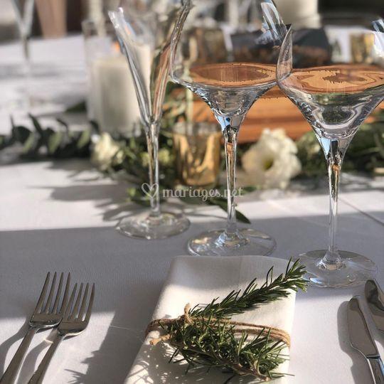 Table romarin