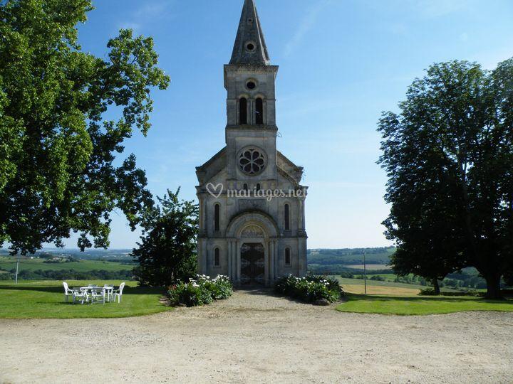 La chapelle néo romane (1877)