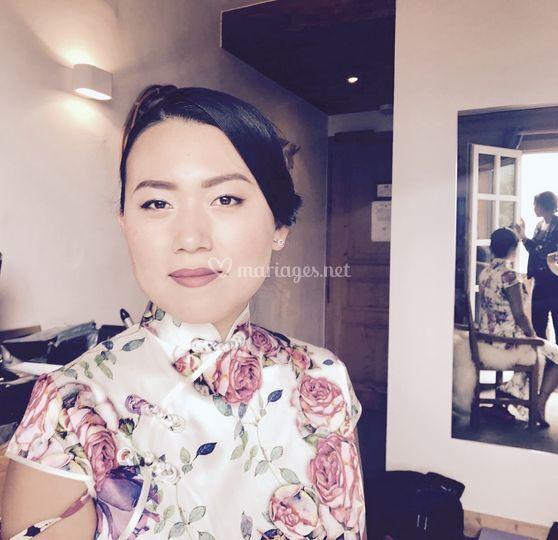 Maquillage asiatique