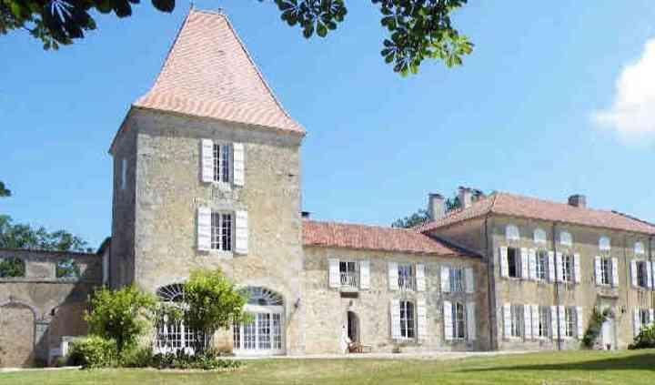 Vue du château au sud