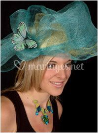 Chapeau et collier
