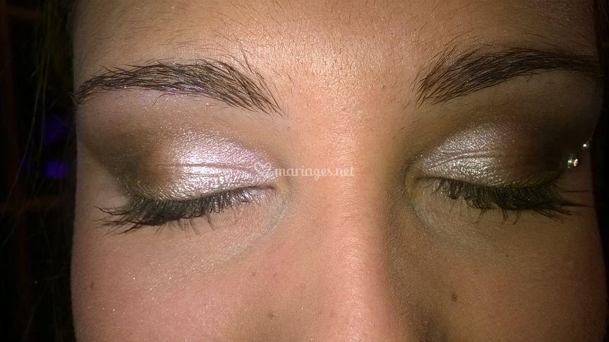 Dégradé yeux
