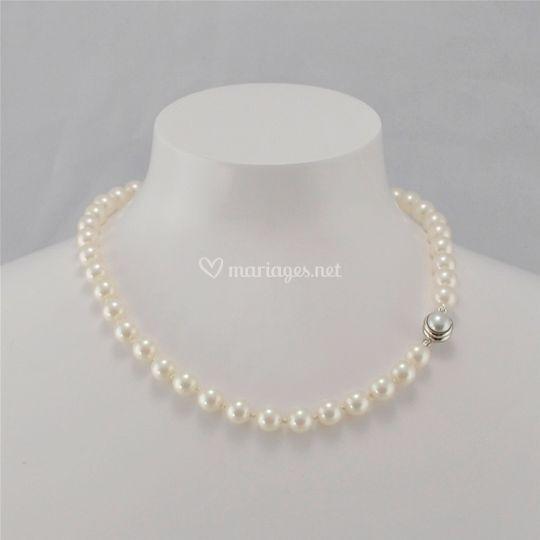 Collier perles Princesse