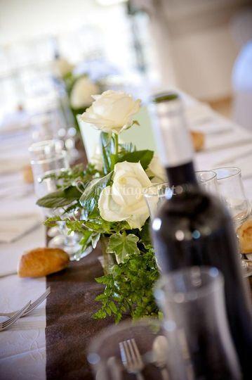 Décoration florale de mariage