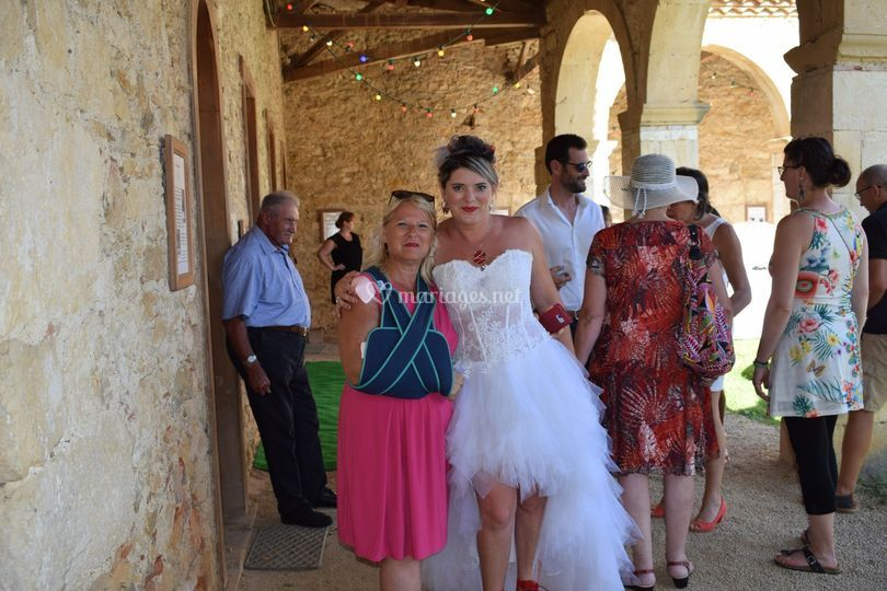 Mariage de Leslie et David
