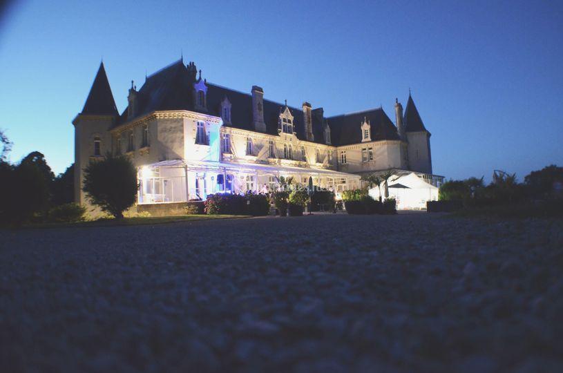 Château la nuit
